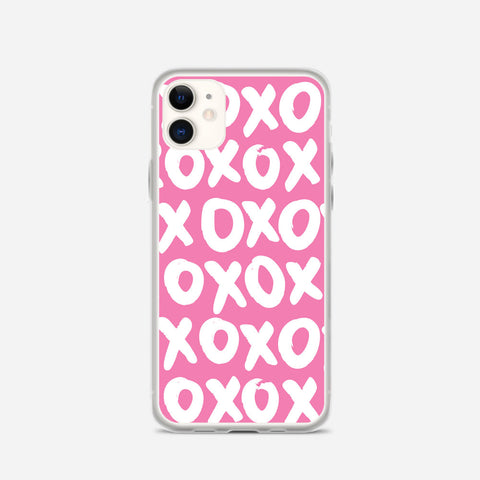 Pink XOXO iPhone 11 Case