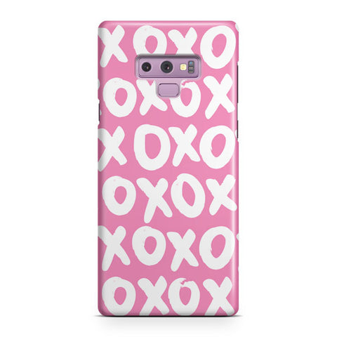 Pink XOXO Samsung Galaxy Note 9 Case