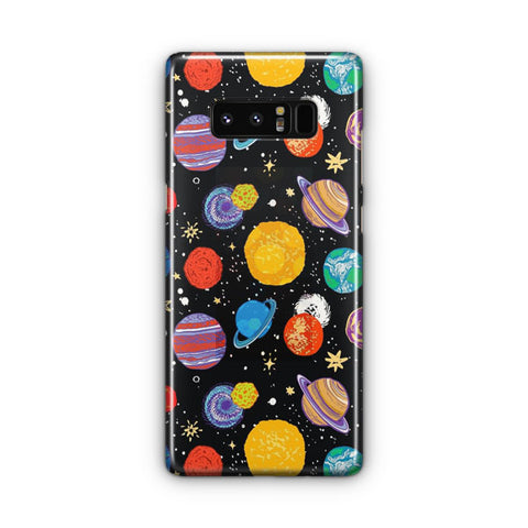 Planets Samsung Galaxy Note 8 Case