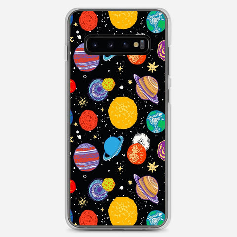 Planets Samsung Galaxy S10 Plus Case