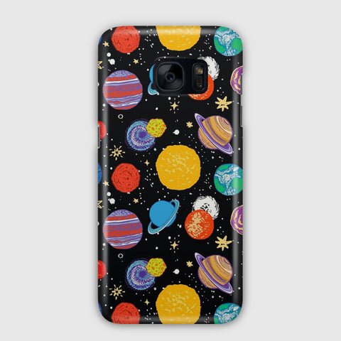 Planets Samsung Galaxy S7 Edge Case
