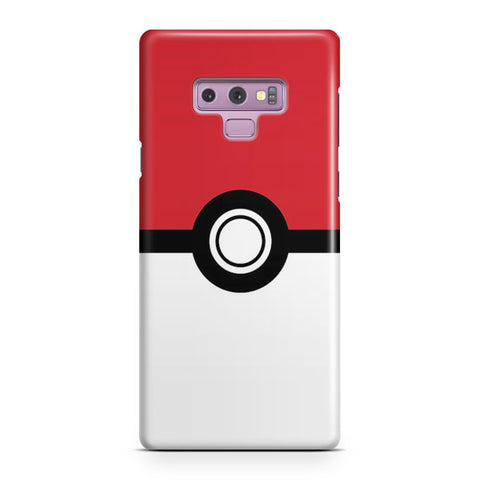 Poke Ball Flat Samsung Galaxy Note 9 Case