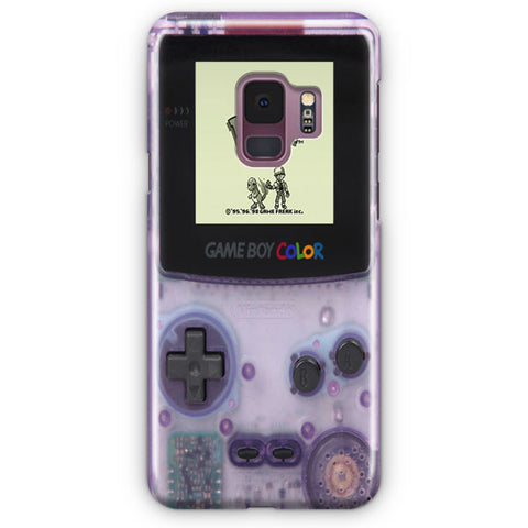 Pokemon Limited Edition Clear Purple Samsung Galaxy S9 Case