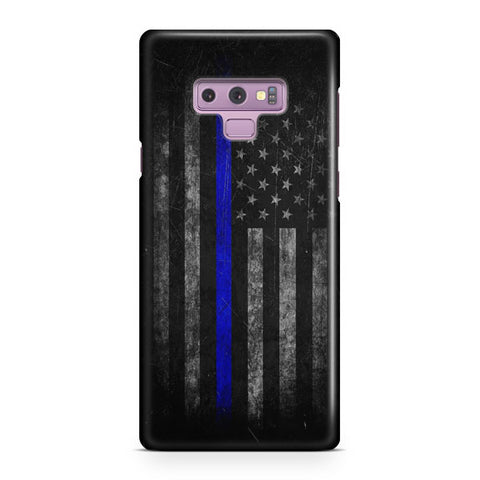Police Thin Blue Line Samsung Galaxy Note 9 Case