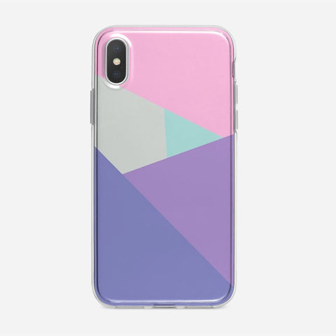 Polygon Wall Mural iPhone XS Case