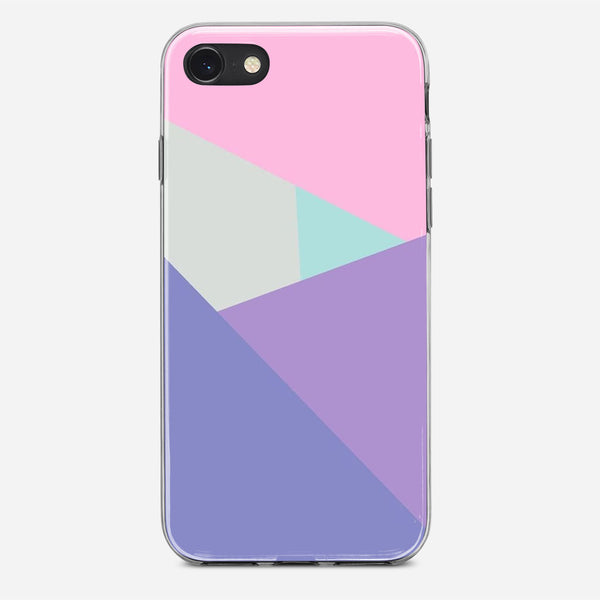 Polygon Wall Mural iPhone X Case
