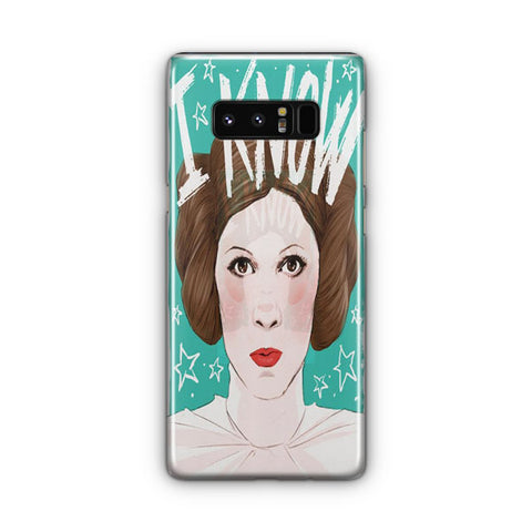 Princess Leia Knows Samsung Galaxy Note 8 Case
