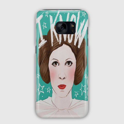 Princess Leia Knows Samsung Galaxy S7 Edge Case