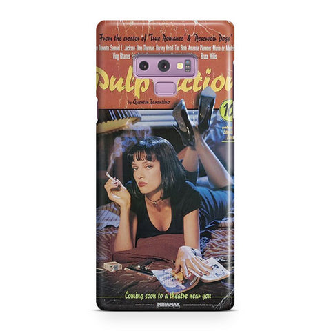 Pulp Fiction Vintage Poster Samsung Galaxy Note 9 Case