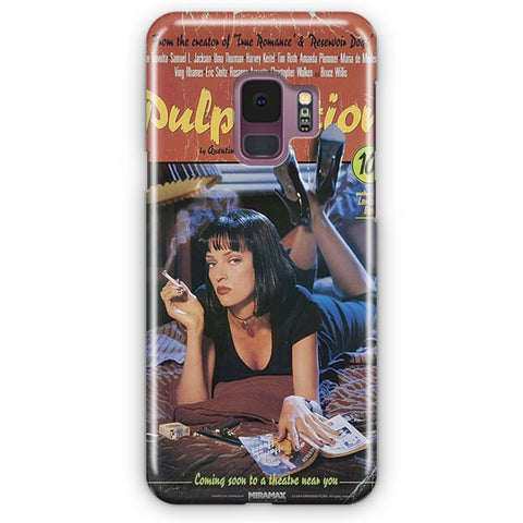 Pulp Fiction Vintage Poster Samsung Galaxy S9 Case