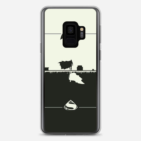 Batman & Superman Artwork Samsung Galaxy S9 Case
