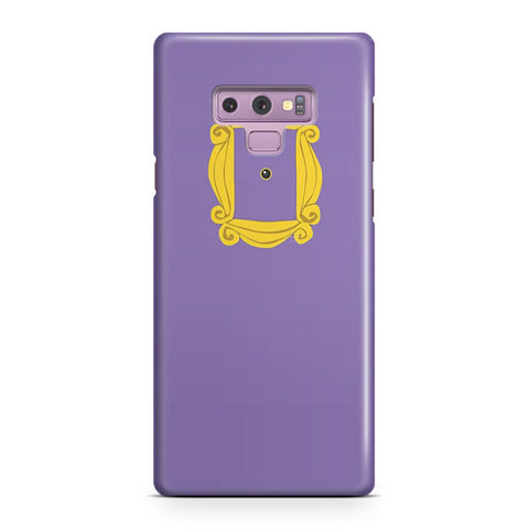 Purple Door Gold Frame Peephole Samsung Galaxy Note 9 Case