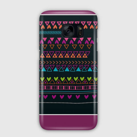 Purple Kuit Samsung Galaxy S7 Edge Case