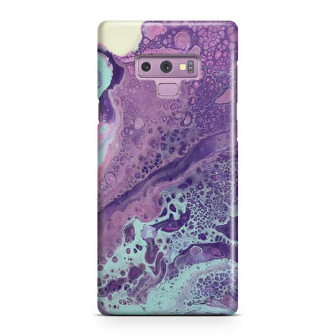Purple Marble Samsung Galaxy Note 9 Case
