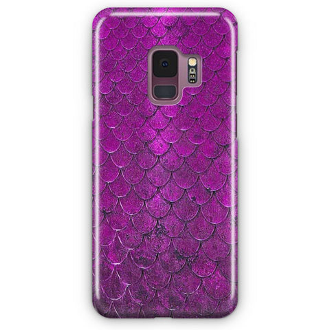 Purple Mermaid Samsung Galaxy S9 Case