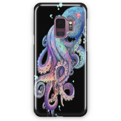 Rainbow Coloured Octopus Samsung Galaxy S9 Case