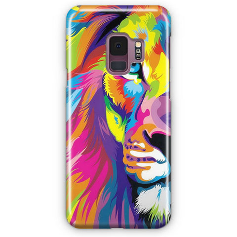 Rainbow Lion Samsung Galaxy S9 Case
