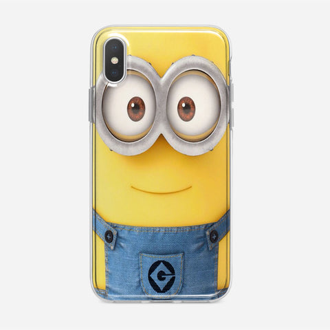 Real Face Minion iPhone XS Case