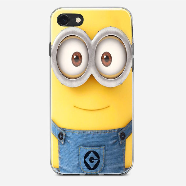 Real Face Minion iPhone X Case