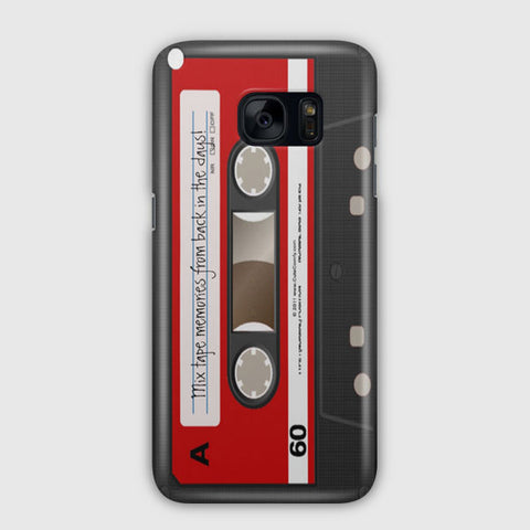 Red Cassette Samsung Galaxy S7 Edge Case