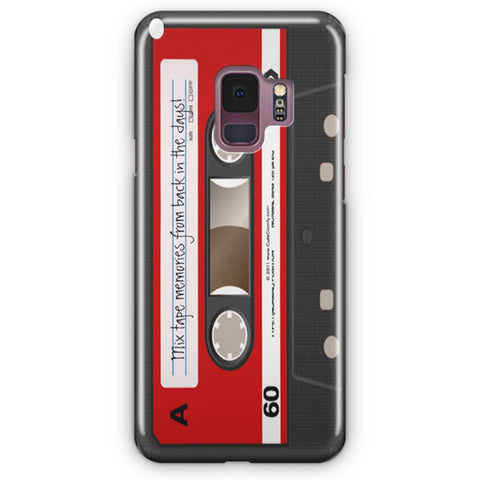 Red Cassette Samsung Galaxy S9 Case