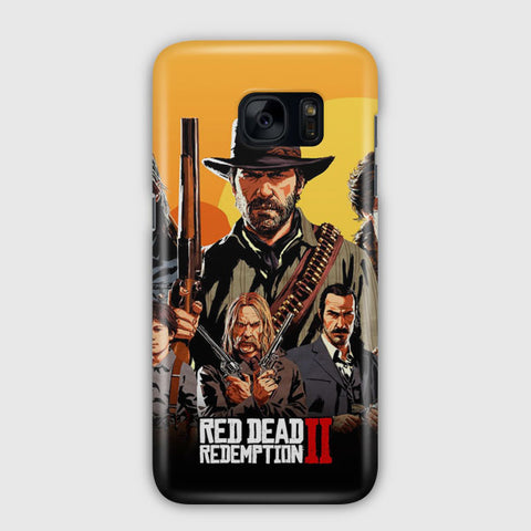 Red Dead Redemption Samsung Galaxy S7 Edge Case