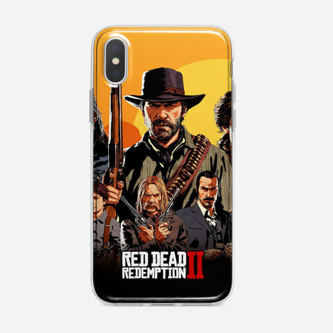 Red Dead Redemption iPhone XS Case