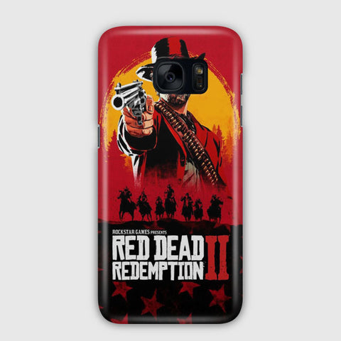 Red Dead Redemption 2 Samsung Galaxy S7 Edge Case