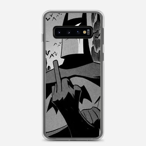 Batman Batfinger Samsung Galaxy S10 Case