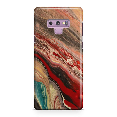 Red Marble Samsung Galaxy Note 9 Case