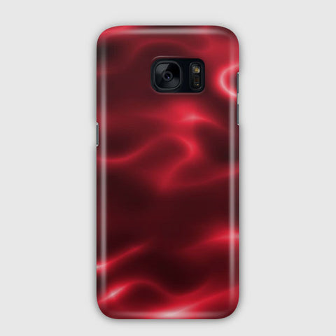 Red Painting Samsung Galaxy S7 Edge Case