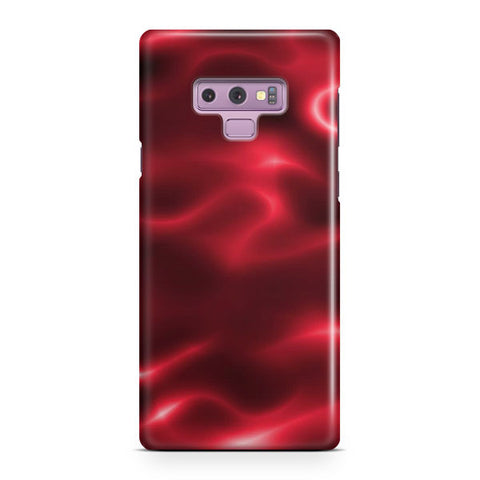 Red Painting Samsung Galaxy Note 9 Case