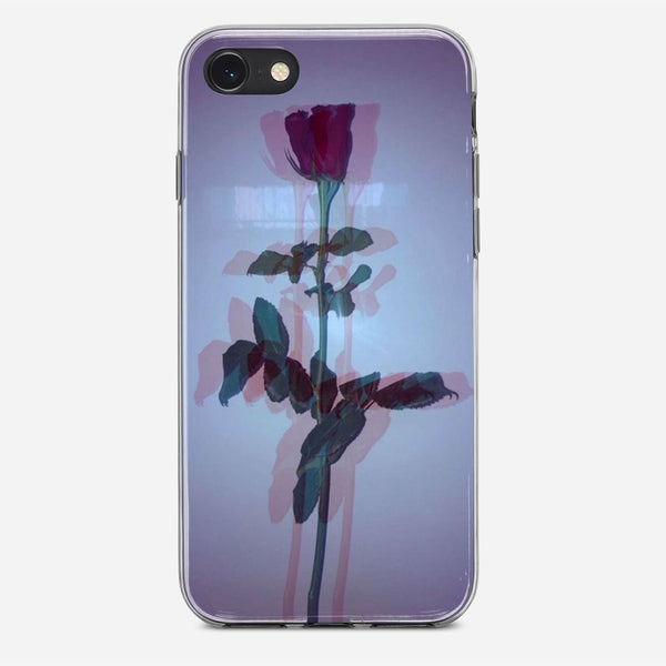 Red Rose Tumblr Color iPhone X Case