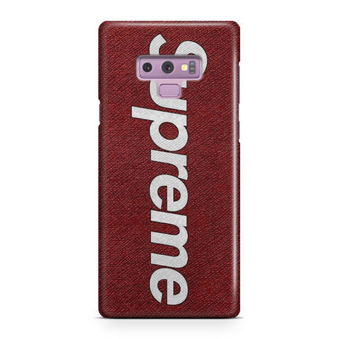 Red Supreme Textured Samsung Galaxy Note 9 Case