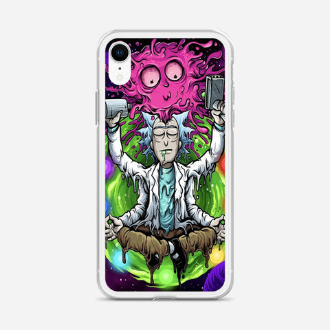 Rick & Morty Tapestry iPhone XR Case