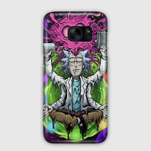Rick & Morty Tapestry Samsung Galaxy S7 Edge Case