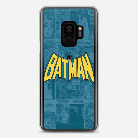Batman Comics Logo Samsung Galaxy S9 Case