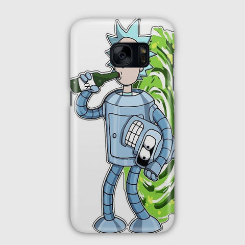 Rick and Morty Artwork Samsung Galaxy S7 Edge Case