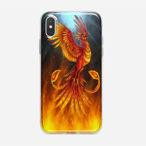 Rise From The Flames iPhone XS Case