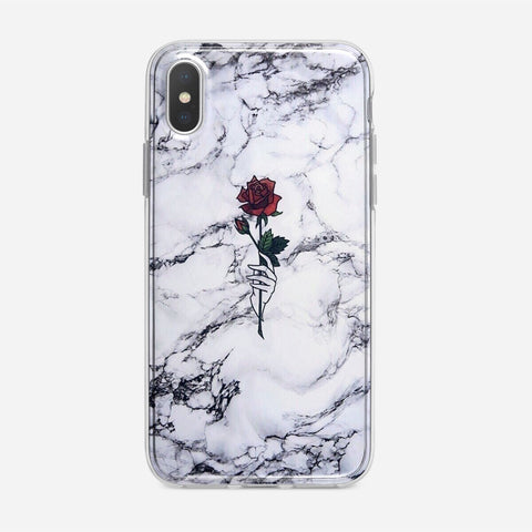 Rose Marble iPhone XS Case