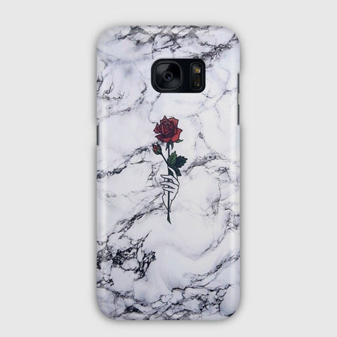 Rose Marble Samsung Galaxy S7 Edge Case