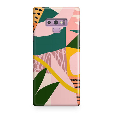 Savannah Flower Samsung Galaxy Note 9 Case