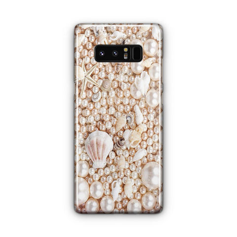 Seashells And Pearls Samsung Galaxy Note 8 Case