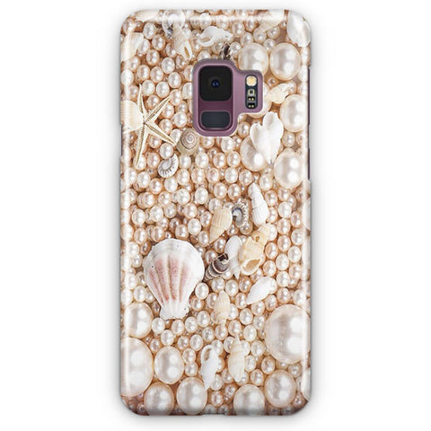 Seashells And Pearls Samsung Galaxy S9 Case