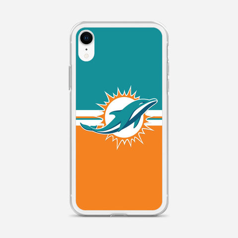 Miami Dolphins Logo iPhone XR Case
