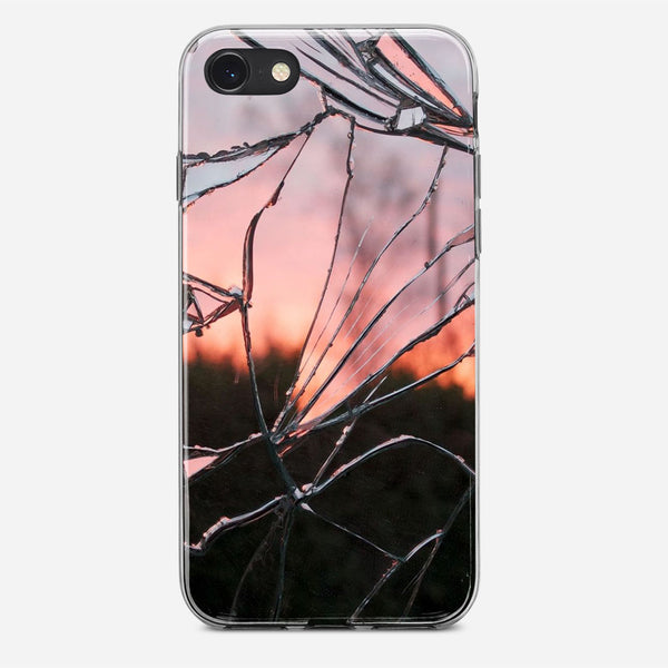 Shattered iPhone X Case