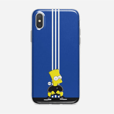 Simpson Bart X Adidas iPhone XS Case