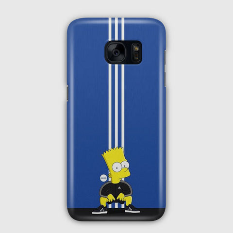 Simpson Bart X Adidas Samsung Galaxy S7 Edge Case
