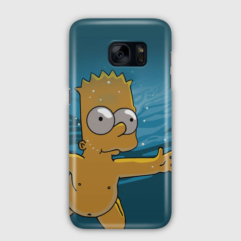 Simpsons Baby Samsung Galaxy S7 Edge Case