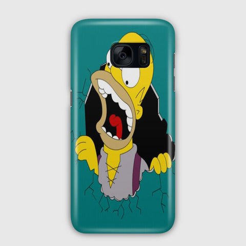 Simpsons Shout Samsung Galaxy S7 Edge Case